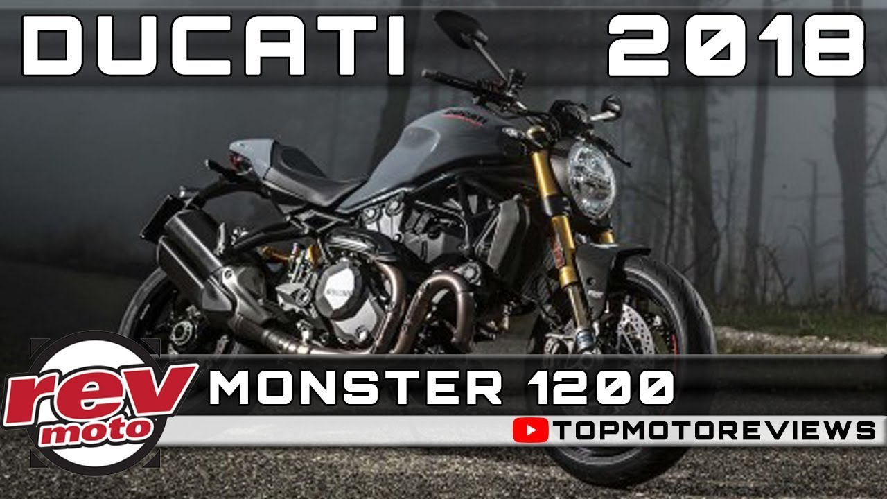 2018 ducati monster 1200 review rendered price release date youtube. Black Bedroom Furniture Sets. Home Design Ideas