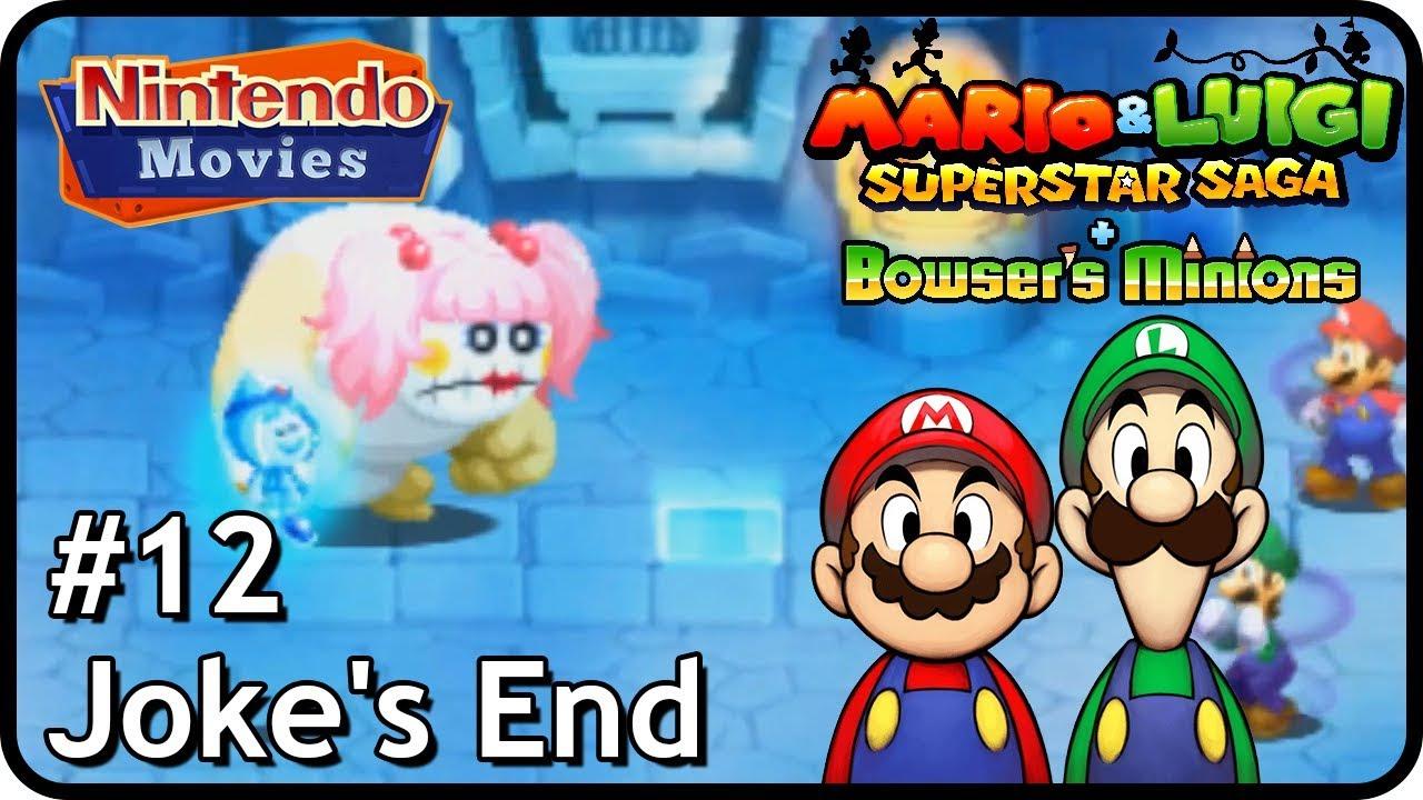 Mario Luigi Superstar Saga Bowser S Minions M L Episode 12 Joke S End