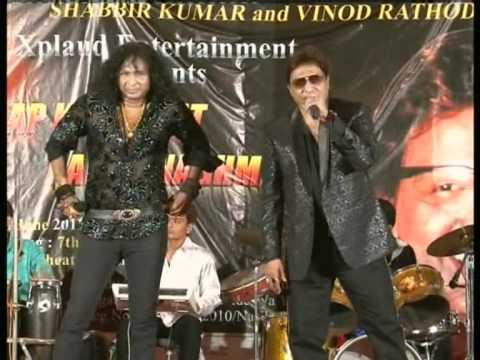 Bane chaahe dushman - LIVE at Malegaon by Shabbir Kumar and Vinod Rathod