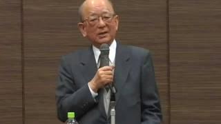 鈴木章名誉教授講演 (前編)  「工学部学生に贈る言葉」