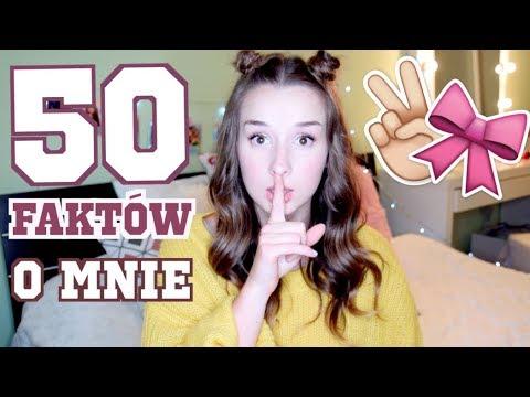 50 FAKTÓW O MNIE | Sylwia Lipka