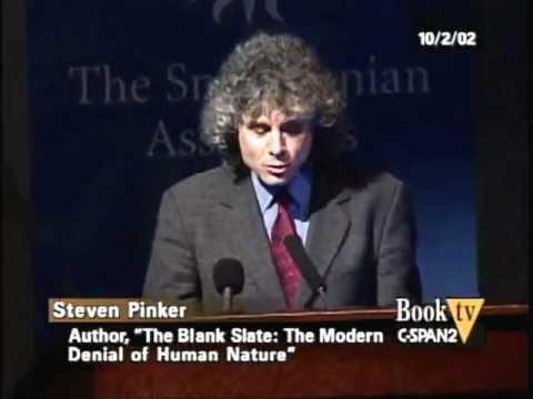 Steven Pinker: Blank Slate