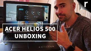 Acer Predator Helios 500 Unboxing & Setup