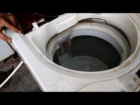 Cara mudah memperbaiki mesin cuci otomatis 1 tabung tidak mau beroperasi saat proses pencucian.