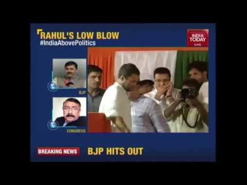 Modi Doing Politics Over Blood Of Soldiers, Rahul Gandhi's Direct Attack On PM
