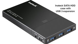 Inateck 3 Ports USB 3.0 Hub with 2.5