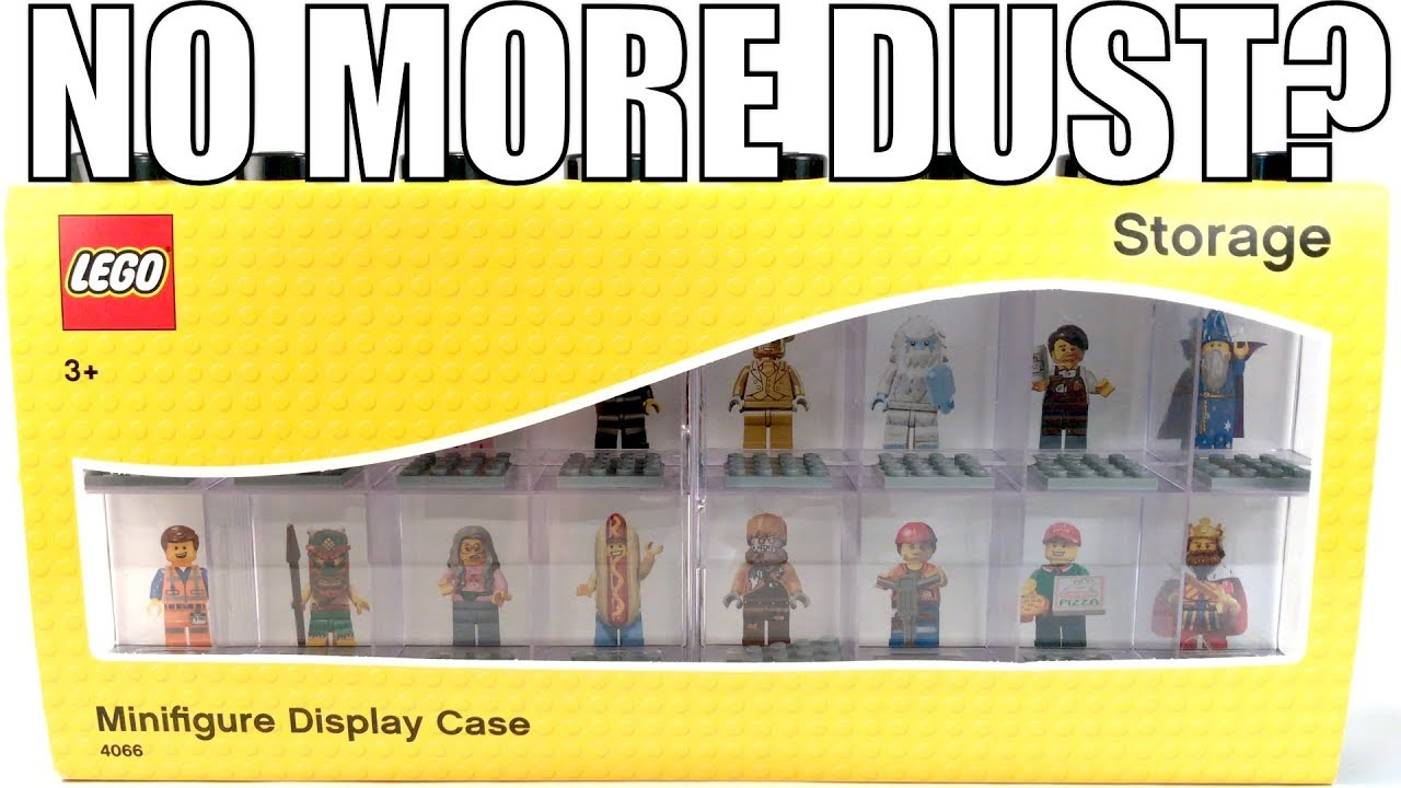 LEGO Minifigure Display Case! | A Dust-Free Life!