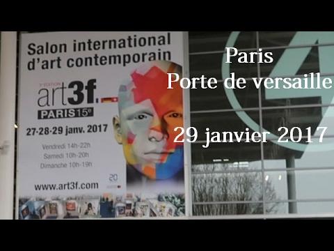 Salon art contemporain art3f paris youtube - Salon art contemporain paris ...