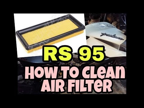 How To Clean Air Filter for increasing mileage.. DIY