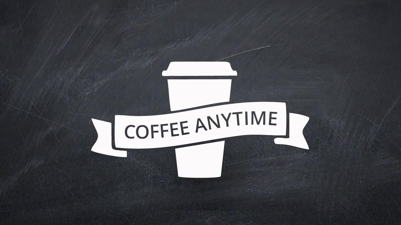 Coffee Anytime - сеть кофеен!
