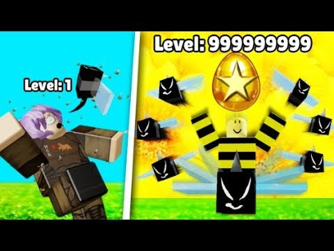 HIGHEST BEE HIVE LEVEL RECORDED! // Roblox - Bee simulator |