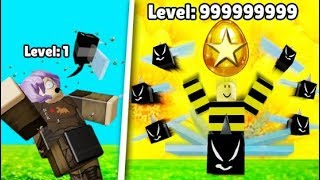 HIGHEST BEE HIVE LEVEL RECORDED! Roblox - Bienensimulator