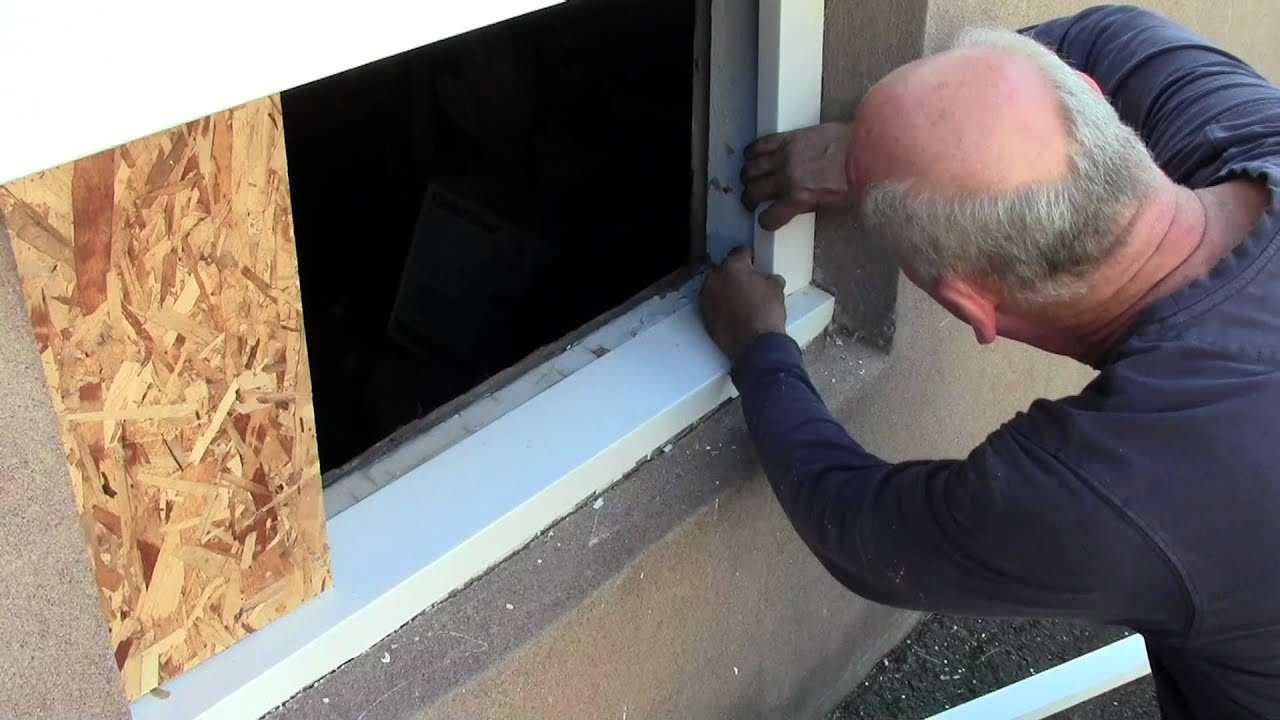 Basement Window With A Dryer Vent Vinyl Replacement