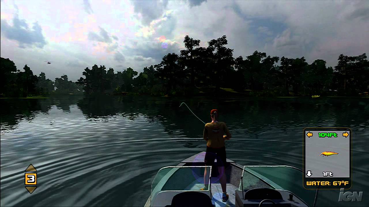 Rapala Tournament Fishing Xbox 360 Gameplay This Is Youtube