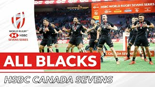 RELIVE ALL BLACKS 7s CUP FINAL   Canada Sevens