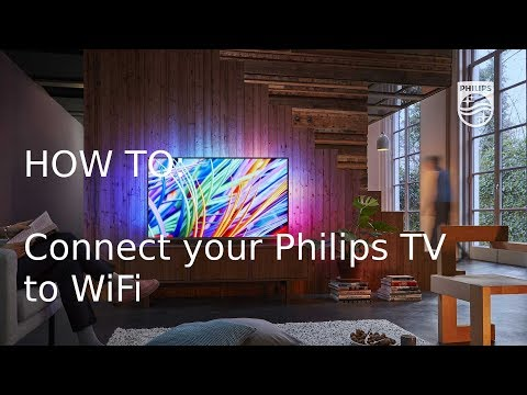 How To Connect Your Philips TV To WiFi