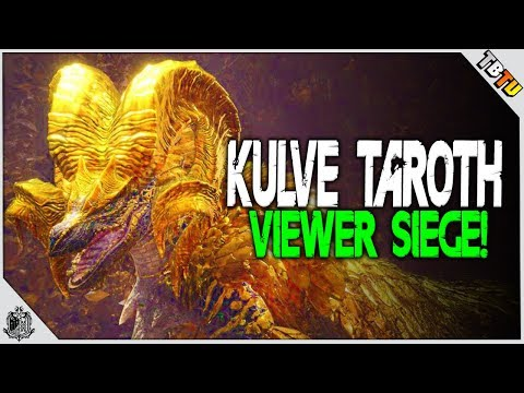 🔴 KULVE TAROTH SIEGE WITH VIEWERS! Monster Hunter World DLC PS4 Pro