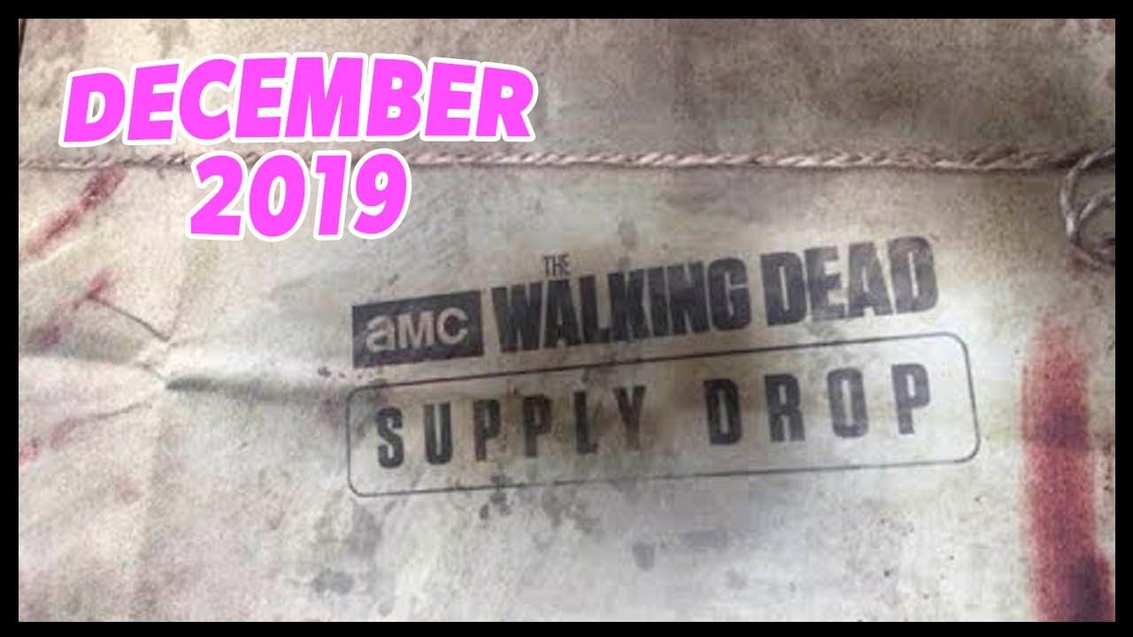 Walking Dead Supply Drop Box Winter 2019!!