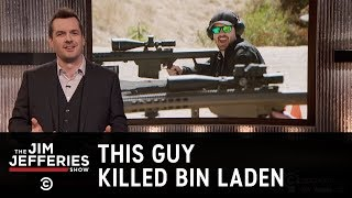 Feeling More American by the Minute - Jim Goes to a Gun Range - The Jim Jefferies Show
