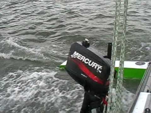 Kelsall Typhoon trimaran fast sailing