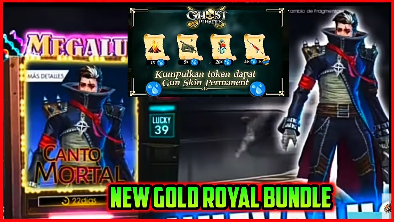 Free Fire New Gold Royal Bundle Free Fire Upcoming New Events Mg More Youtube