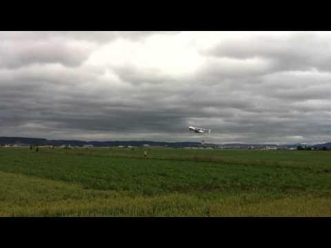 Le plus gros avion du monde a l'euro airport
