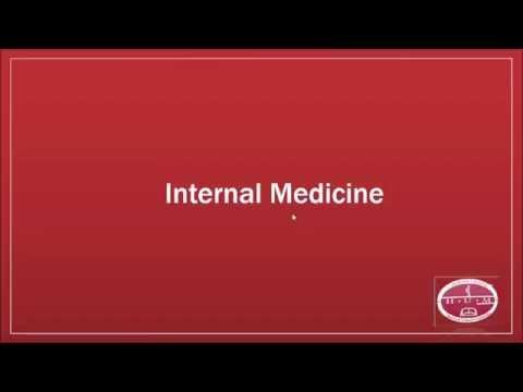 Internal Medicine , Radiology and Neurology