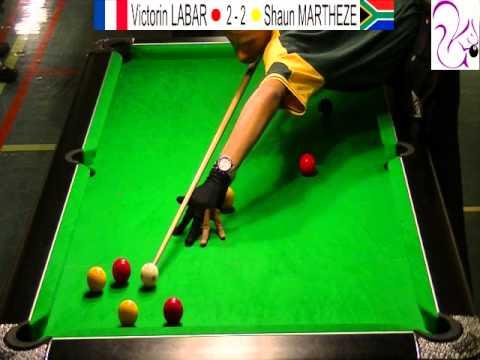 Championnats du monde de Blackball 2014 Petite finale U23 5/9