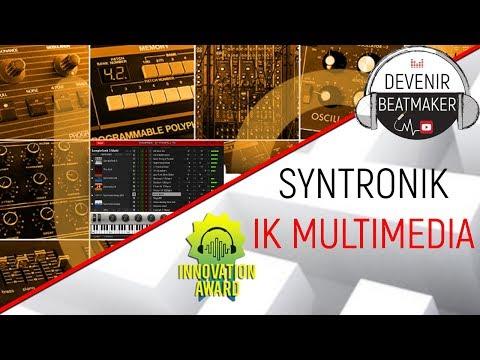 TEST de SYNTRONIK (IK Multimedia)
