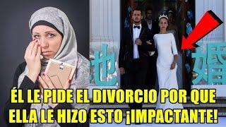 El le pidió el divorcio solo 2 HORAS después de su boda ¡La razón te dejará impactado!