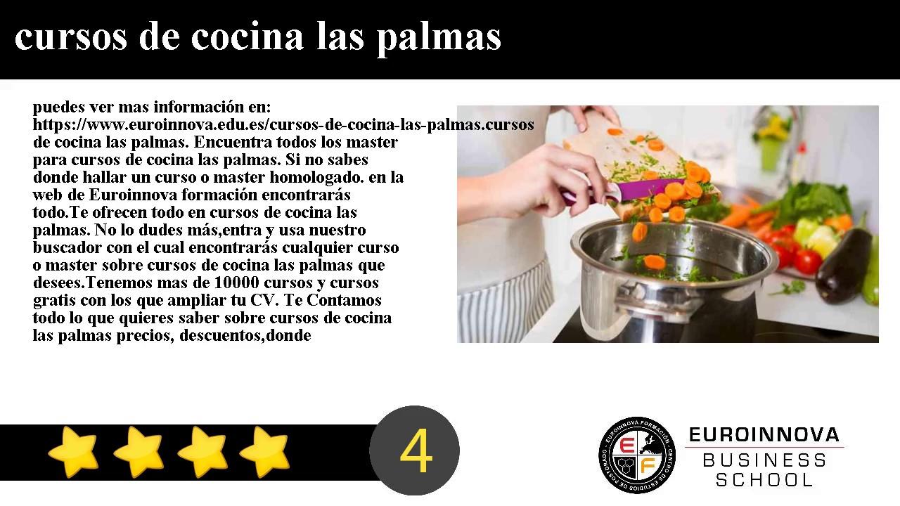 Marvelous Cursos De Cocina Las Palmas   YouTube