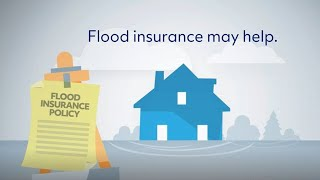 Homeowners insurance does not typically cover flood damage. if you don't have a policy, it's important to consider how one might help you. le...