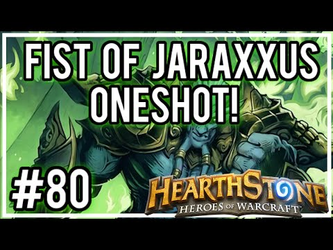[Hearthstone Challenges] #80 - Fist of Jaraxxus ONE-SHOT! (Most Difficult Challenge I EVER Did!)