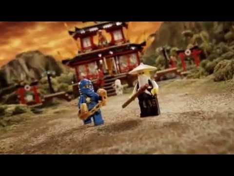 2011 LEGO Ninjago - Fire Temple vs Skull Truck 骷髏頭車殺到火焰神廟