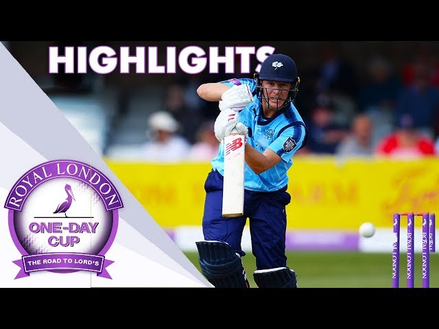 Yorkshire v Essex 