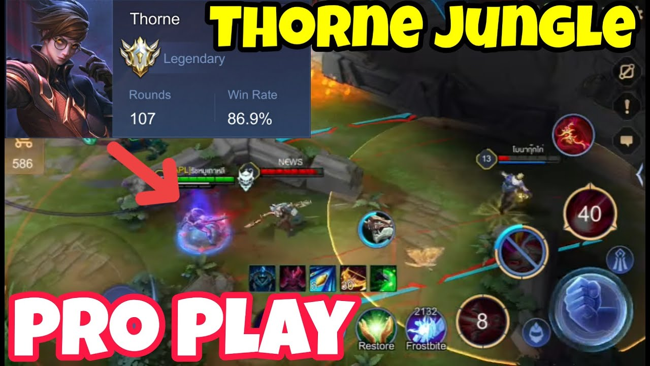 Pro Thorne Jungle Play!! AUTO Ban!! 100games
