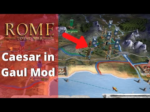 58BC: Caesar Imperator Campaign - Rome Total War Underrated Mod Gameplay |
