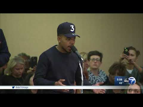 Chance the Rapper opposes building of police, fire academy