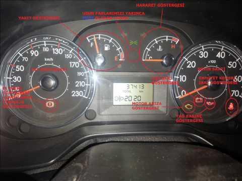 fiat punto araç kontrol ve kumanda panelleri tanıtım videosu - youtube