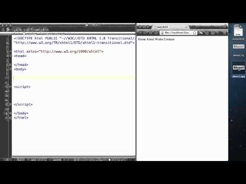 JavaScript - 27. DOM events- onclick and onmouseover