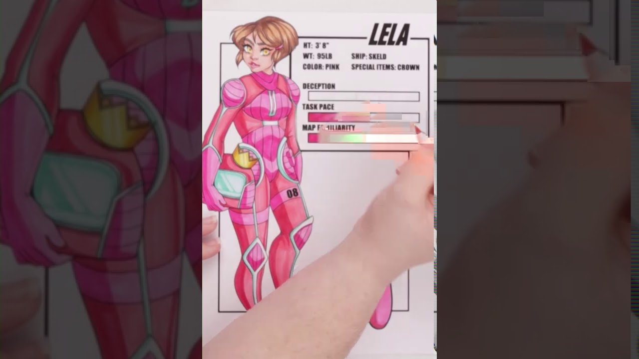 Drawing your Amongsona | Among Us Characters | Lela