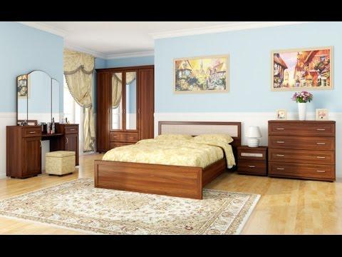 Кровать Нота Эстелла Деревянная - YouTube