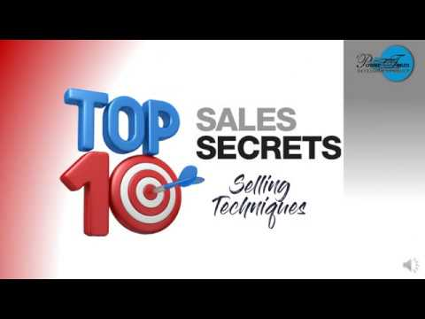 Module 1 & 2 Top 10 Sales Secret