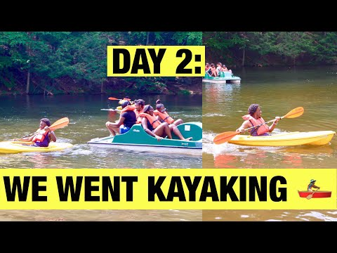 WE WENT KAYAKING (DAY 2 ) | Cliff's World Vlogs (Day 15)