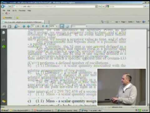 Physics 240 - Lecture 1