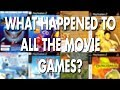 What happened to games based on movies?