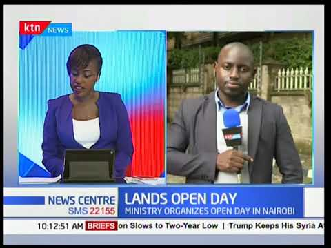 Ministry of Lands organizes open day in Nairobi