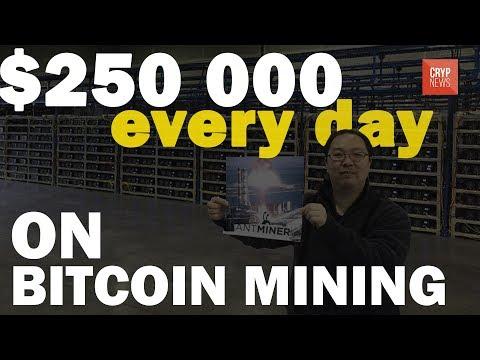 The Biggest Bitcoin Mining Farm! [Cryp News]
