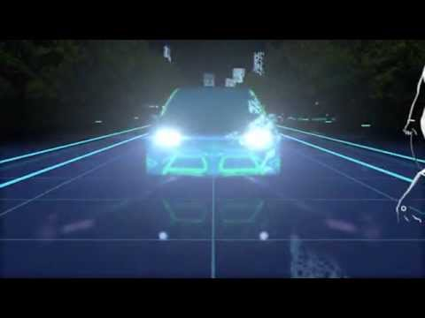 TOYOTA Future Safety Technology - 2012 North American International Auto Show [ 2012 NAIAS ]
