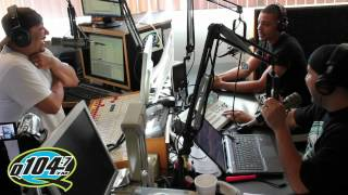 Romarick Anderson Interview with Q104.7's The Rico and Mambo Morning Show